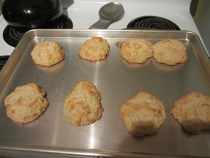 Completed shortcakes.