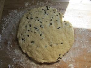 Dough round.