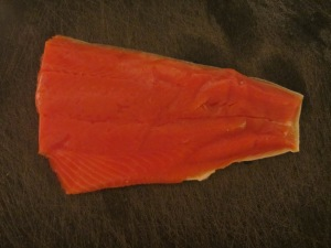 Copper River Salmon fillet.