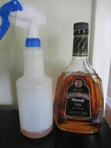 Brandy to spritz.