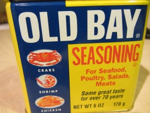 And a sprinkle of Old Bay.