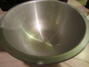 Frozen bowl.
