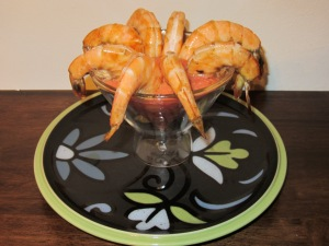 Shrimp Cocktail.