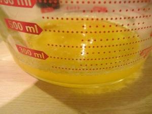 Final clarified butter.