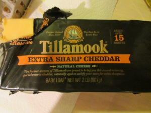 Extra sharp Cheddar.