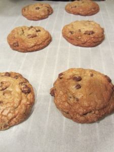 Finished chewy cookies.