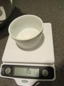15 g of sugar