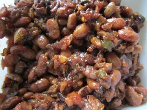 Alton's baked beans.