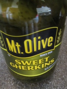 Sweet pickle juice.