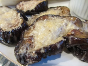 Alton's eggplant steaks.