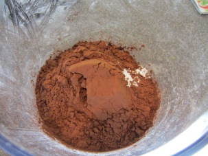 1 C Dutch process cocoa