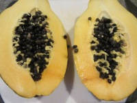 Fresh papaya.