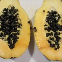 Fresh papaya.