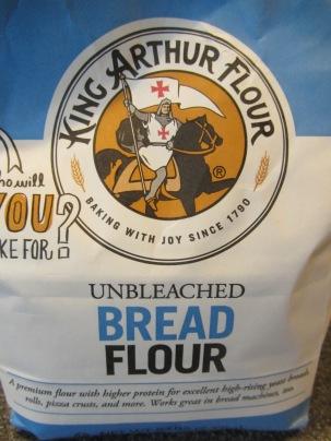 Bread flour.