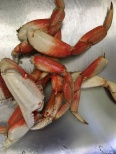 Crab legs, twisted off.