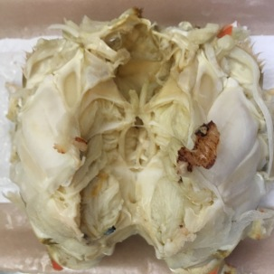 Central core of crab.