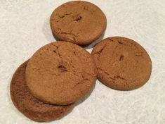 Gingersnap cookies.
