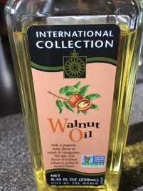 Walnut oil.