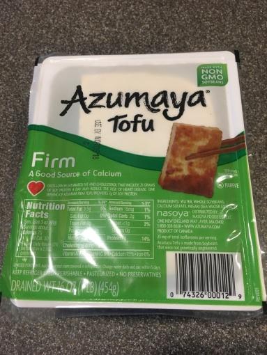 Firm tofu.