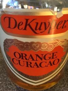 Orange liqueur.
