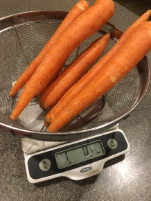 A pound of carrots.