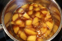 Finished mango filling.